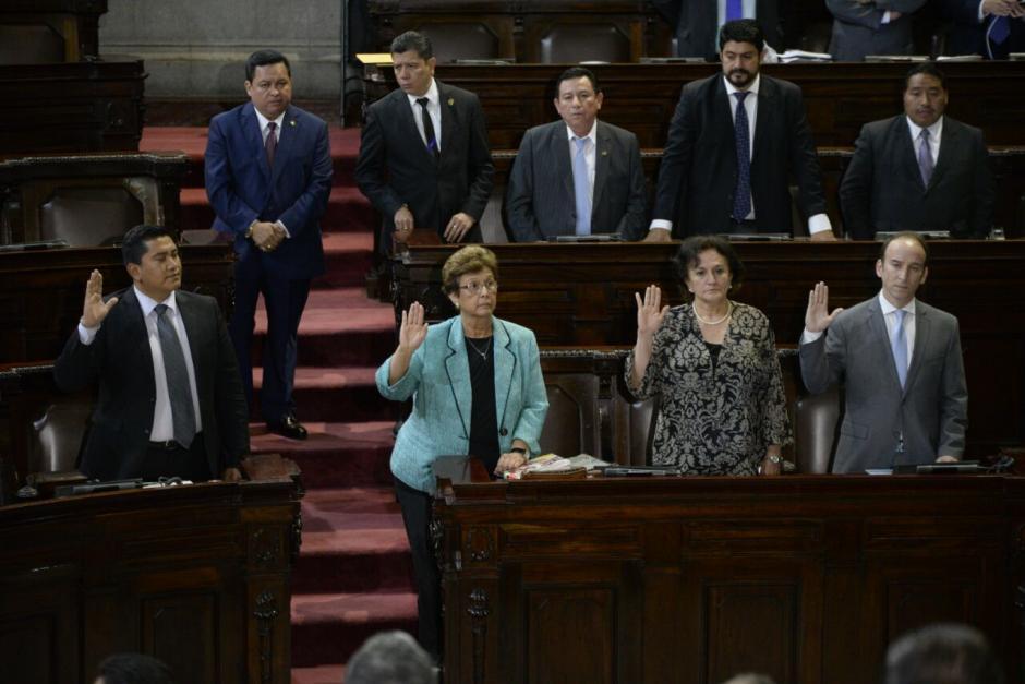 Las jefas de la Procuraduría General de la Nación y el Consejo Nacional de Adopciones también fueron citadas al Congreso. (Foto: Wilder López/Soy502)