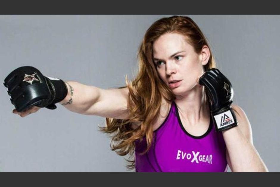 Peggy Morgan enfrentó recientemente a Megan Anderson. (Foto: Infobae)