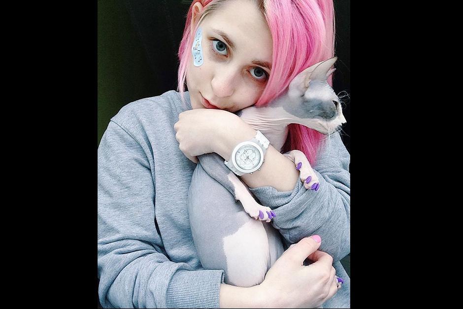 Katichka es rusa y sin duda amante de los gatos  (Foto: Katichka)