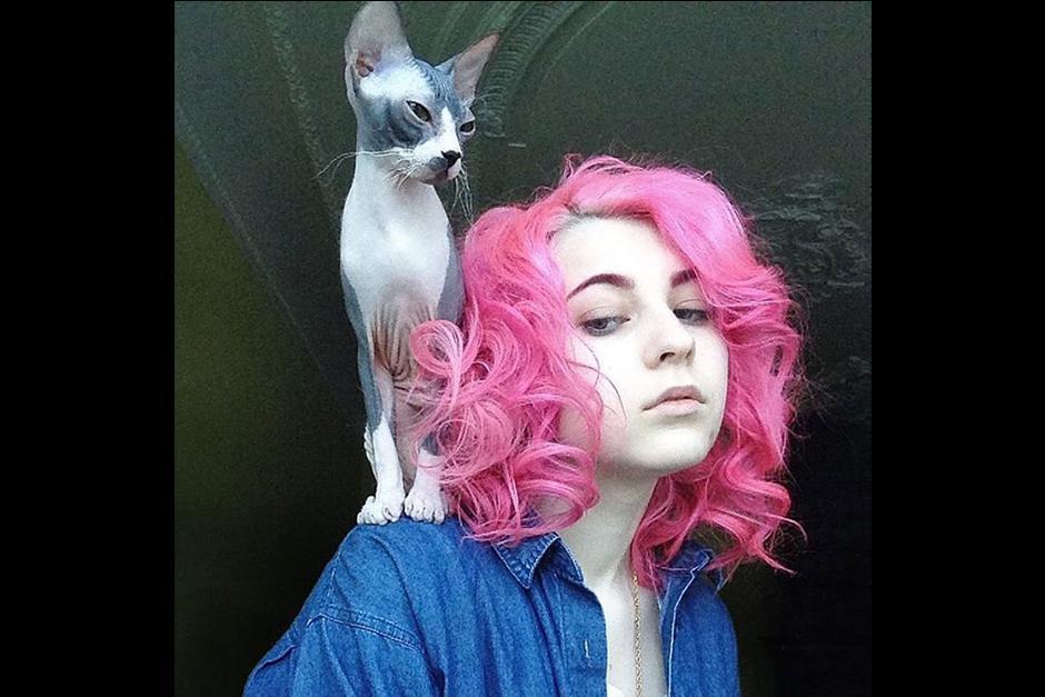 El nombre del gato es: Dormilón. (Foto: Katichka)