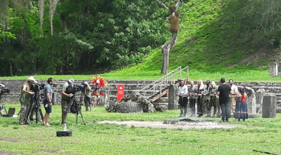 Tikal es protagonista en el show. (Foto: Inguat)