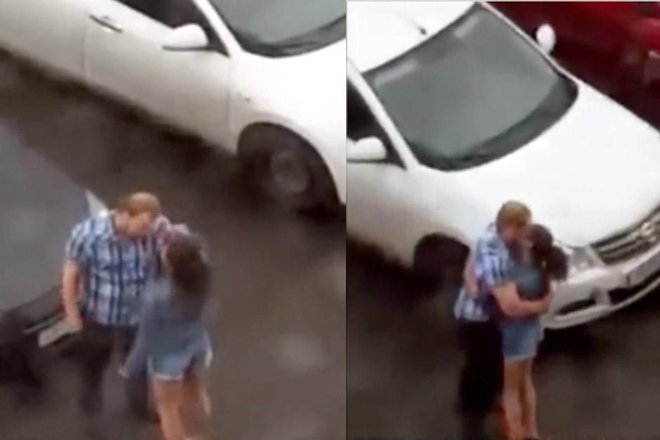 imagen pelea pareja