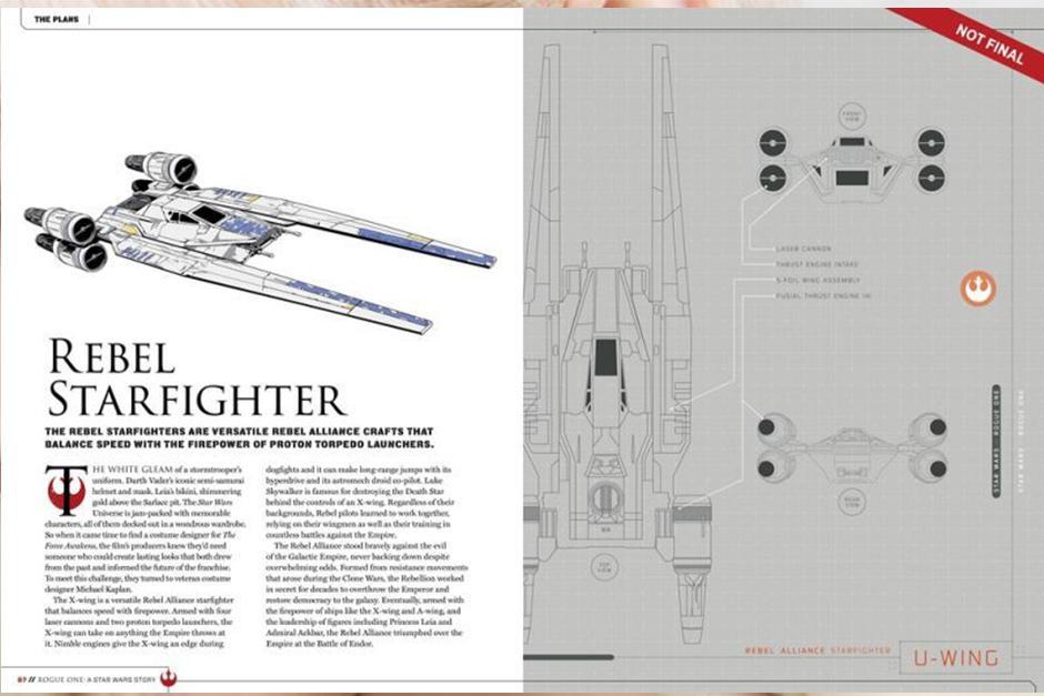 En cuanto al lado rebelde, tenemos al nuevo U-Wing. (Foto: Story Guide)