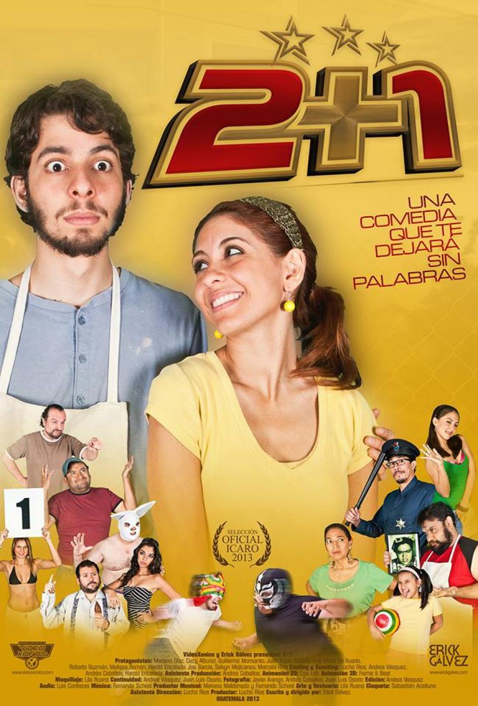 Una selección de películas guatemaltecas te espera. (Foto: 2+1)