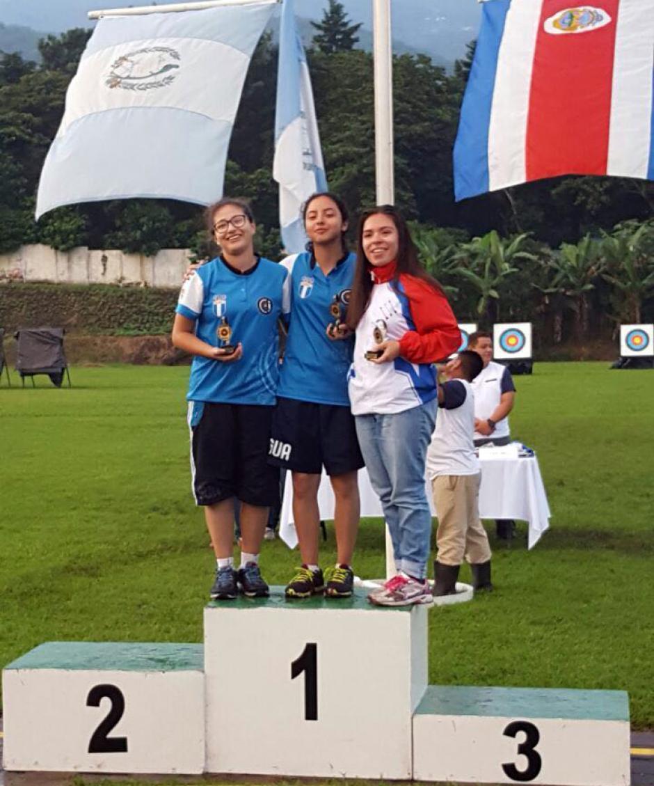 Guatemala conquistó el cetro general, por más medallas de oro. (Foto: COG)