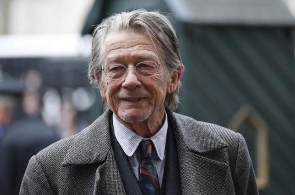 Muere a los 77 años el actor británico, John Hurt. (Foto: Twitter)