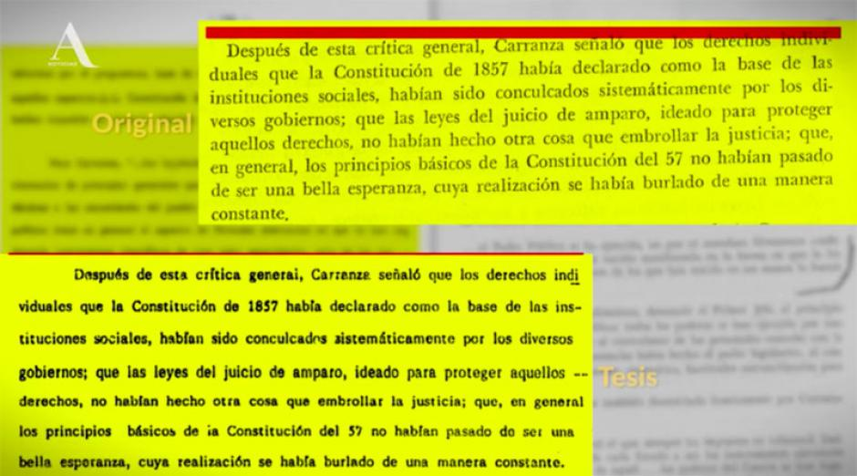 Varios párrafos habrían sido copiados de forma textual. (Foto: www.sopitas.com)