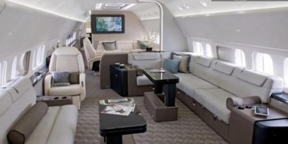 El lujoso avión del presidente de México, Enrique Peña