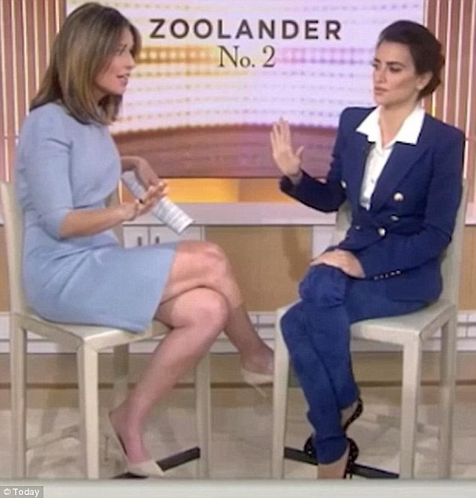 Una presentadora estadounidense le dijo a la actriz que tiene pies feos. (Foto: Daily Mail)