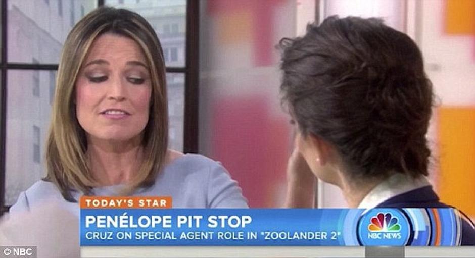 """La entrevista de Savannah Guthrie en el programa televisivo """"Today"""" fue en febrero. (Foto: Daily Mail)"""