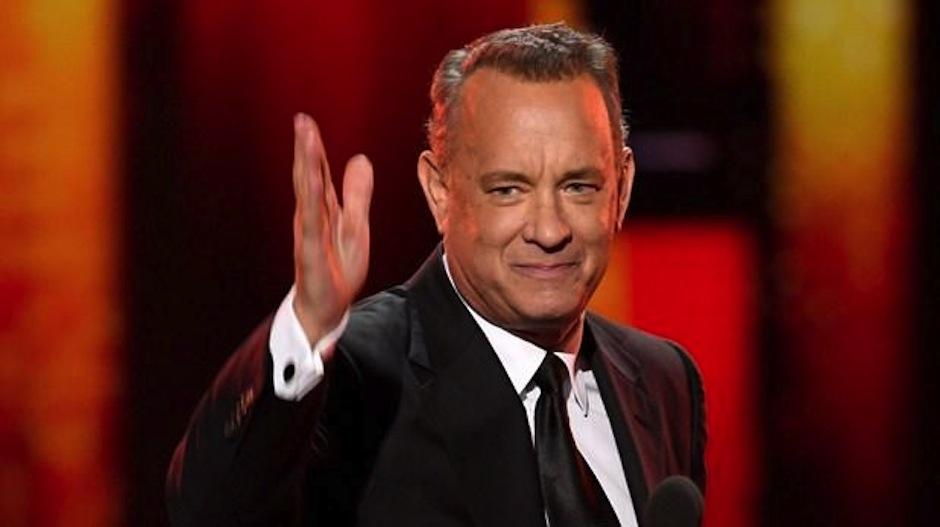 Tom Hanks también es el mejor dramático en las pelis. (Foto: AFP)