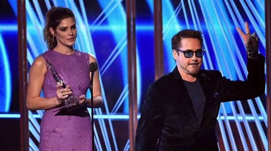 Robert Downey Junior es el favorito actor de acción. (Foto: AFP)