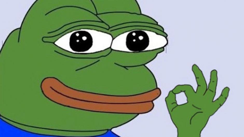 """El meme de la """"rana Pepe"""" es considerado un símbolo racista. (Foto: actualidad.rt.com)"""