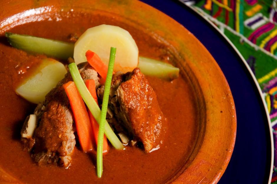 Pepián, plato típico guatemalteco