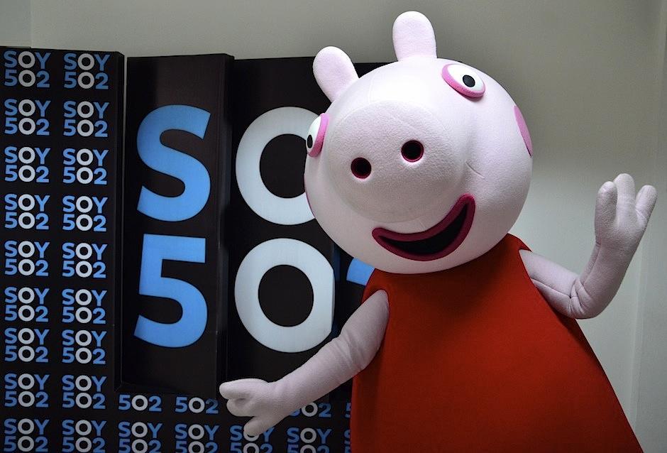 """El show de """"Peppa Pig"""" se presentará el sábado 19 y domingo 20 (Foto: Selene Mejía/Soy502)"""