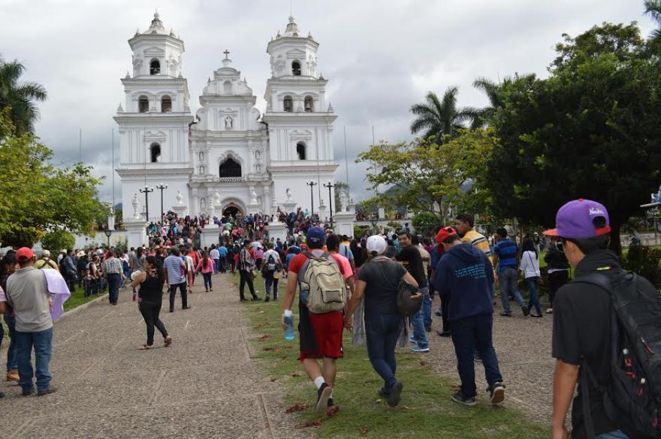 Esta tradición iniciada en la parroquia de Palencia, Guatemala en el año 1990. (Foto: Marlon Villeda/Nuestro Diario)