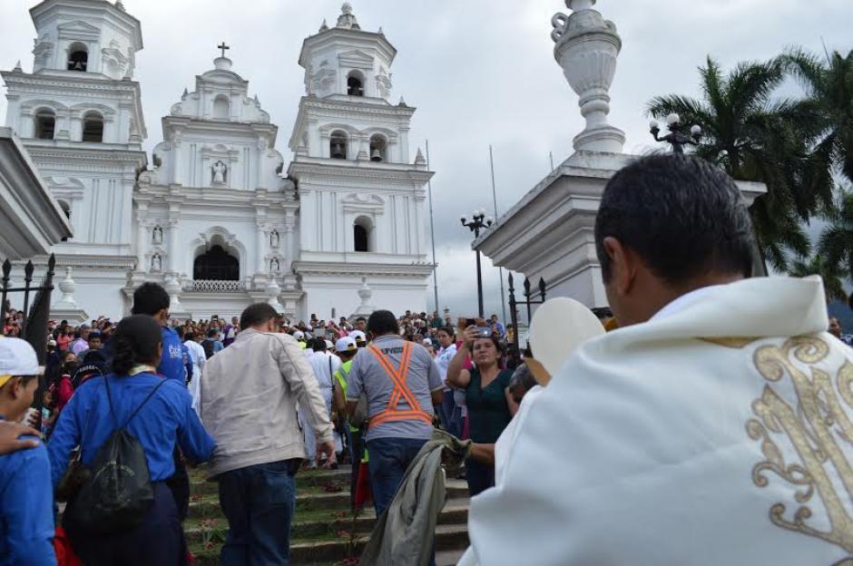 La Basílica de Esquipulas se encuentra en el departamento de Chiquimula. (Foto: Marlon Villeda/Nuestro Diario)