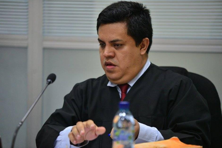 El juez de turno Mario Solórzano es el encargado de llevar el caso. (Foto: Wilder López/Soy502)