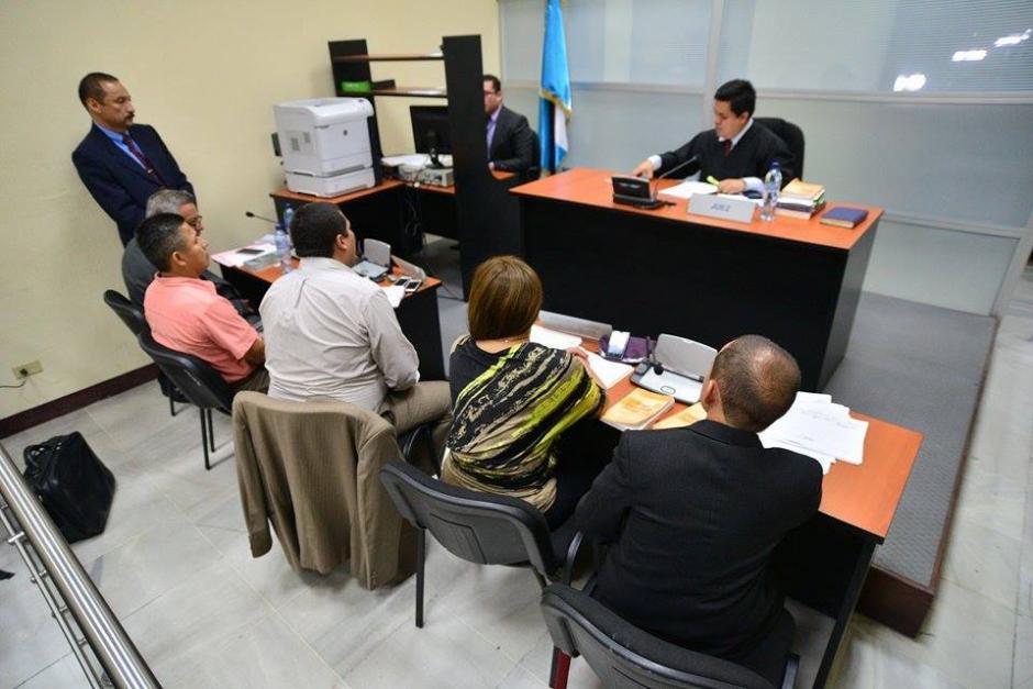 Panorámica de la audiencia del caso de agresión a periodistas. (Foto: Wilder López/Soy502)