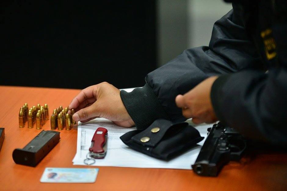 Parte de las pruebas presentadas por el Ministerio Público. (Foto: Wilder López/soy502)