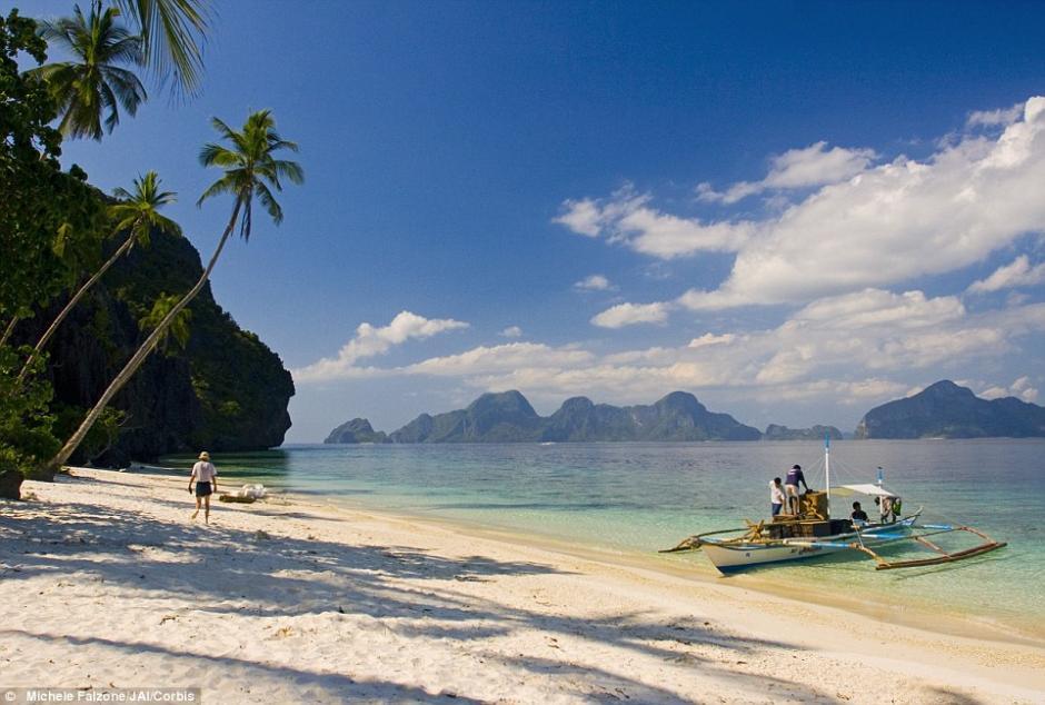 La perla fue encontrada en la isla de Palawan, en Filipinas. (Foto: Daily Mail)
