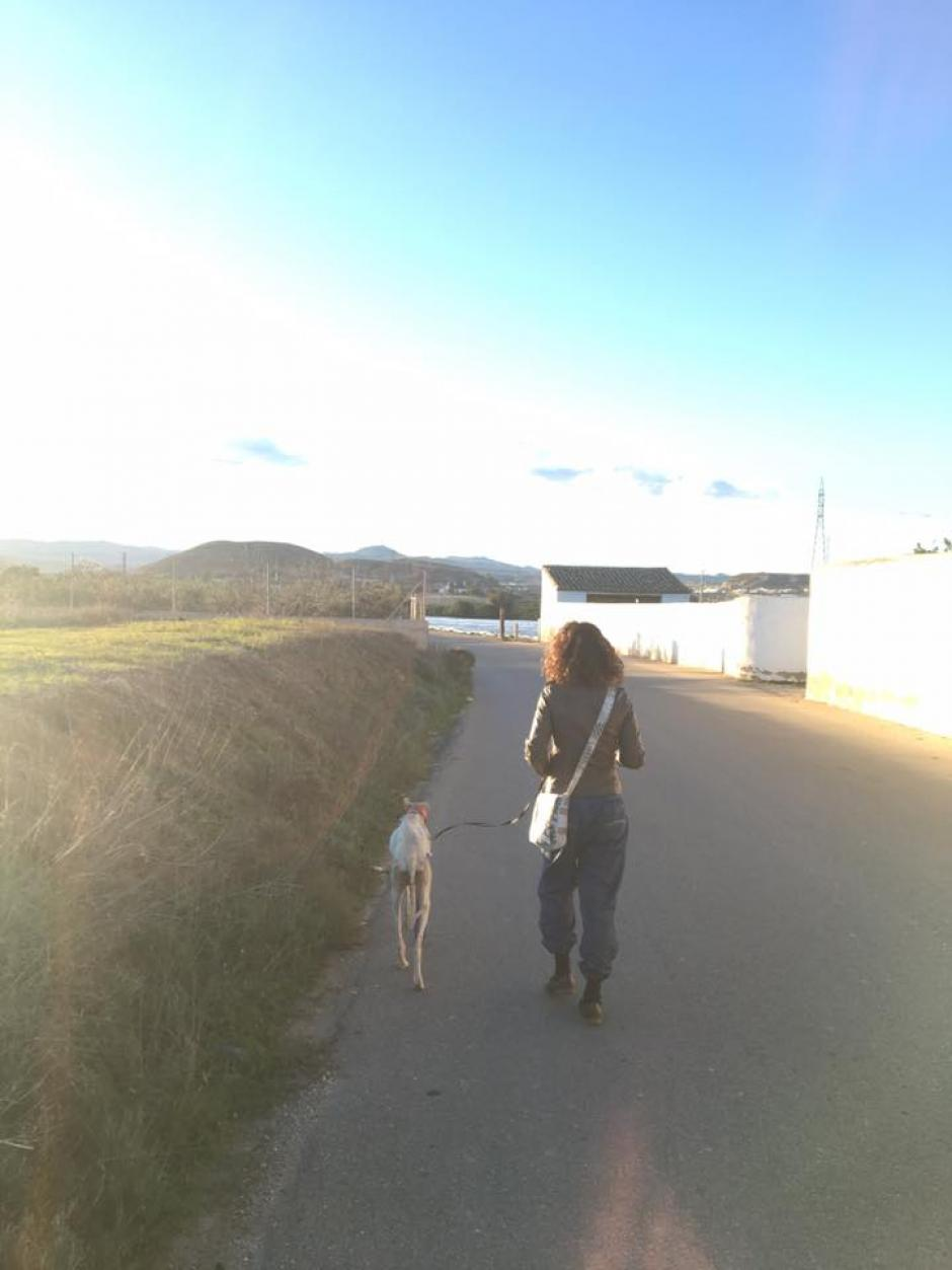 Caminaron varios kilómetros (Foto: Clinivet Turre Clinica Veterinaria)