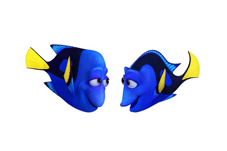 """""""Jenny"""" y """"Charlie"""" son los padres de """"Dory"""", su única hija. (Foto Pixar)"""