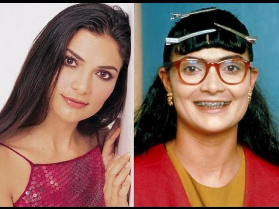 """La colombiana Ana María Orozco interpretó a """"Betty la Fea"""" hace aproximadamente 15 años. (Foto: peru.com)"""