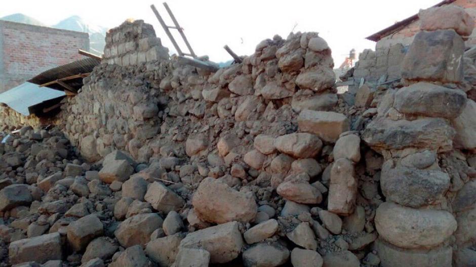 Los distritos afectados son Ichupampa, Chivay, Achoma, Yanque y Coporaque. (Foto: @SkyAlertMx)