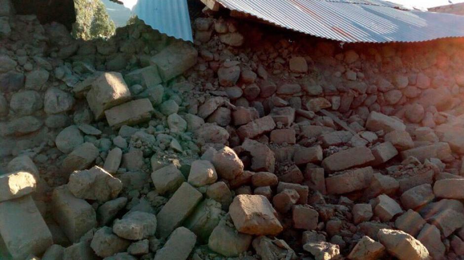 Al menos cuatro muertos y 30 heridos dejó un fuerte sismo en región sureña de Perú. (Foto: @SkyAlertMx)