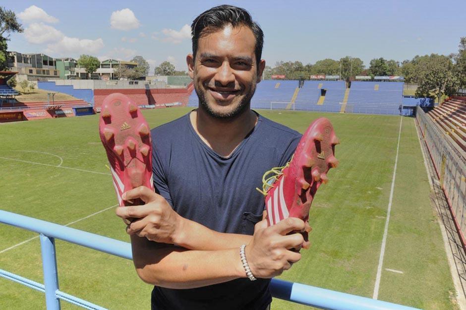 """""""El Fish"""" se retirará de la Selección Nacional a los 36 años de edad. (Foto: Archivo/Soy502)"""