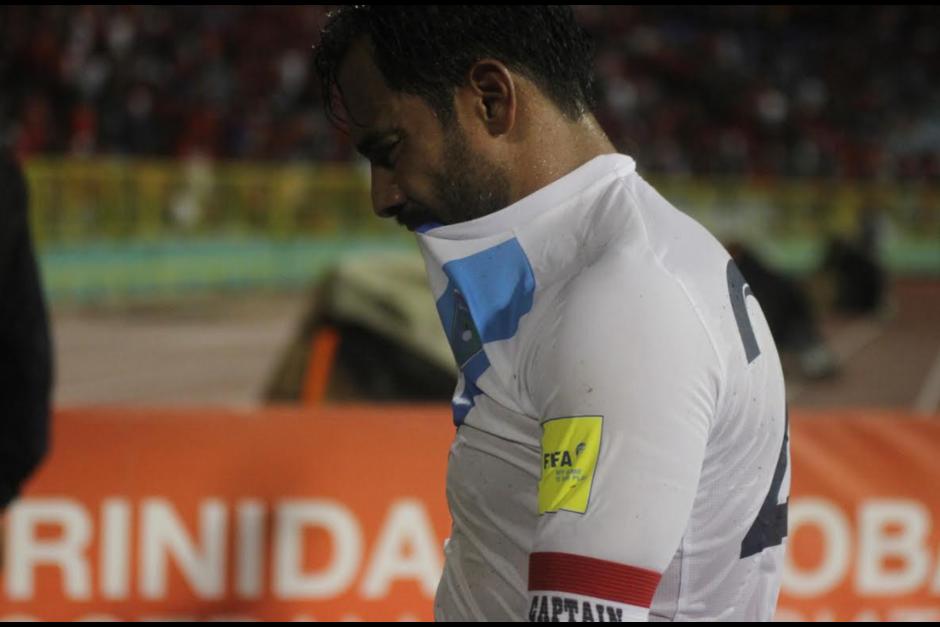 Este martes podría ser el último juego oficial de Ruiz con la selección nacional. (Foto: Archivo/Soy502)