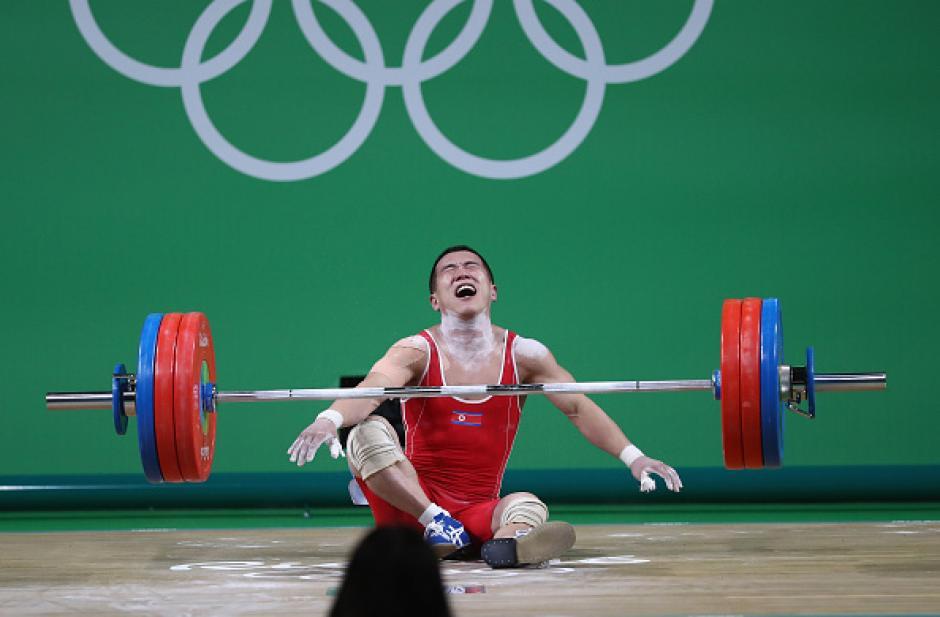 El resultado no fue del agrado del atleta. (Foto: eldiariony.com)