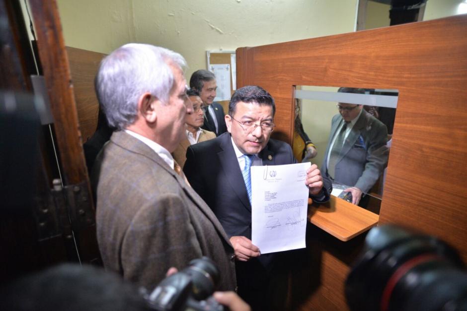 La comisión pesquisidora entregó el informe sobre el caso de Blanca Stalling. (Foto: Wilder López/Soy502)