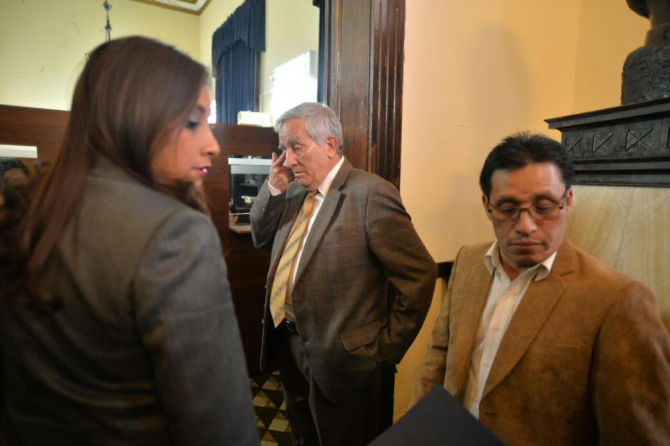 Los diputados integrantes de la comisión dieron su dictamen. (Foto: Wilder López/Soy502)