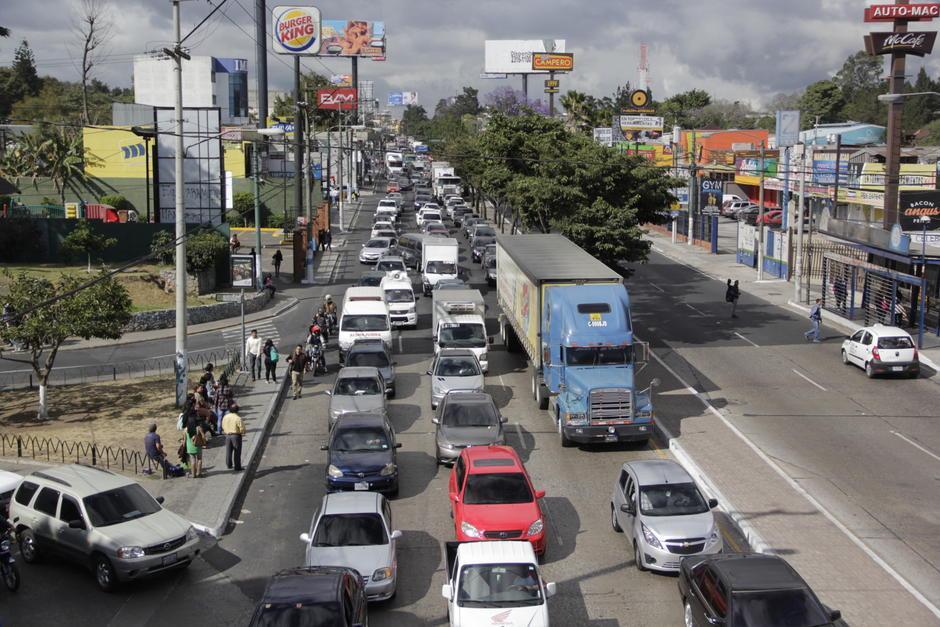 Se recomienda realizar movimientos temprano para evitar el tráfico. (Foto: Archivo/Soy502)