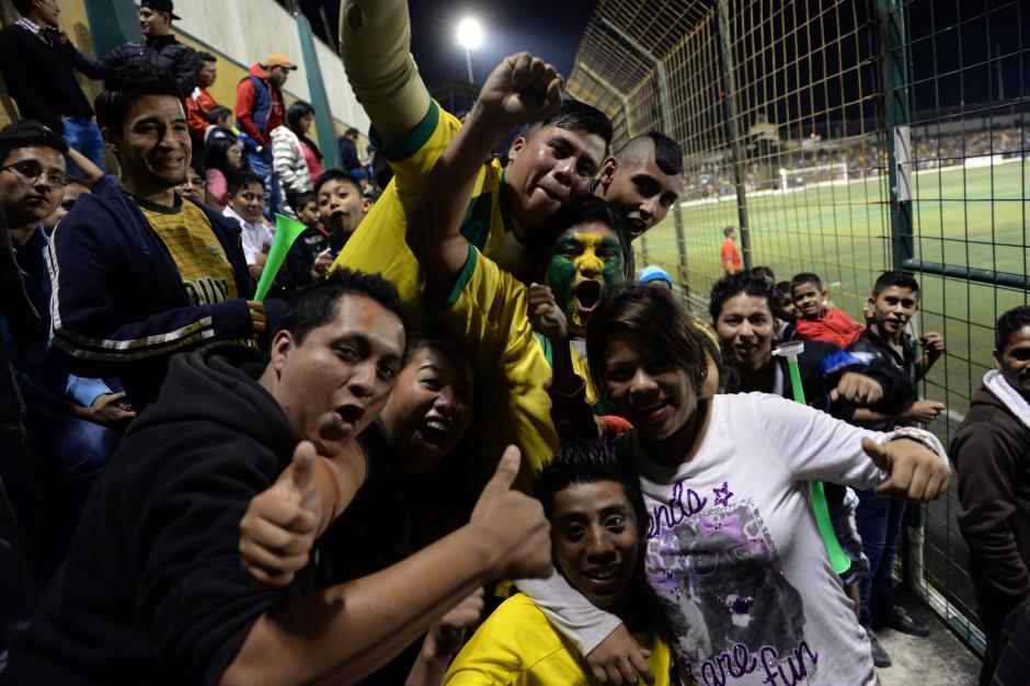 Los aficionados de Petapa llegaron en buen número al estadio Julio Armando Cóbar.(Foto: Nuestro Diario)