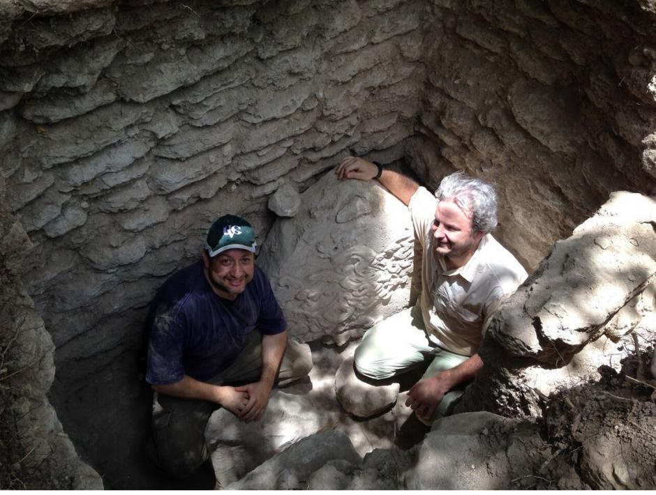 El equipo de arquéologos descubrió el lugar en Petén. (Foto: cortesía Ministerio de Cultura.