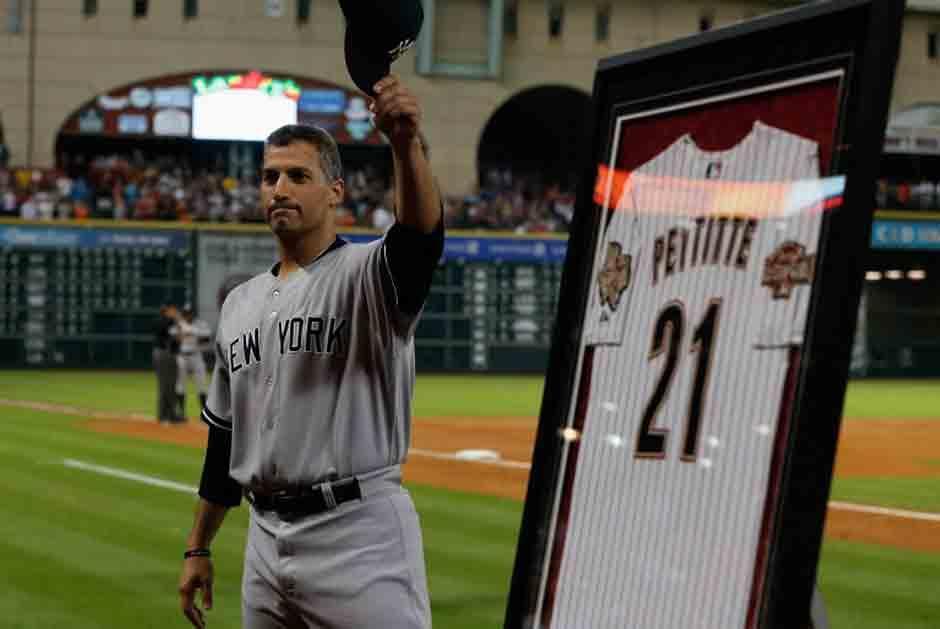 Andy Pettitte fue figura en Los Yankees. (AFP)