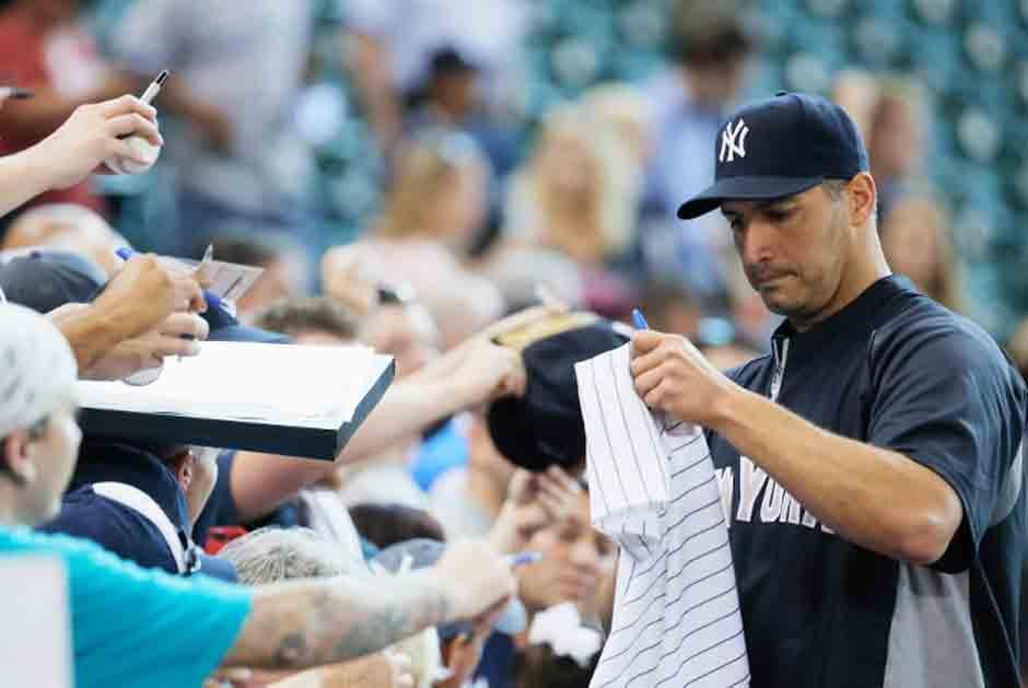 Andy Pettitte, gran figura de los Yankees