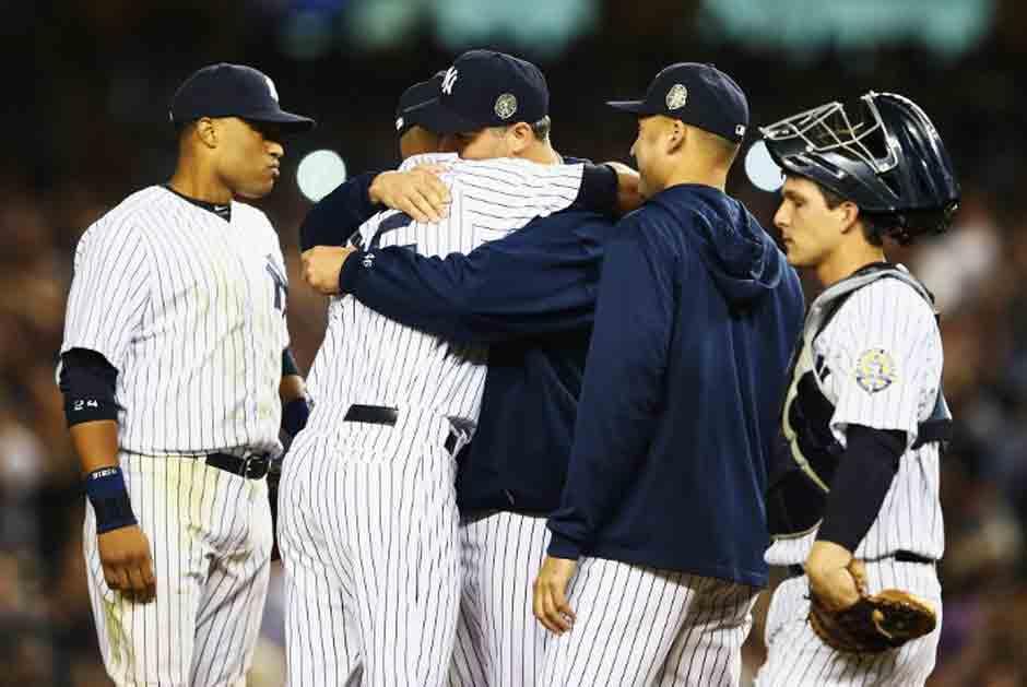 Andy Pettitte se despidió del béisbol con los Yankees. (AFP)