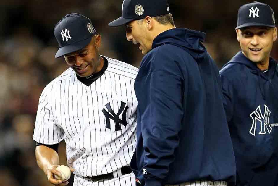Andy Pettitte se retiró con los Yankees. (AFP)