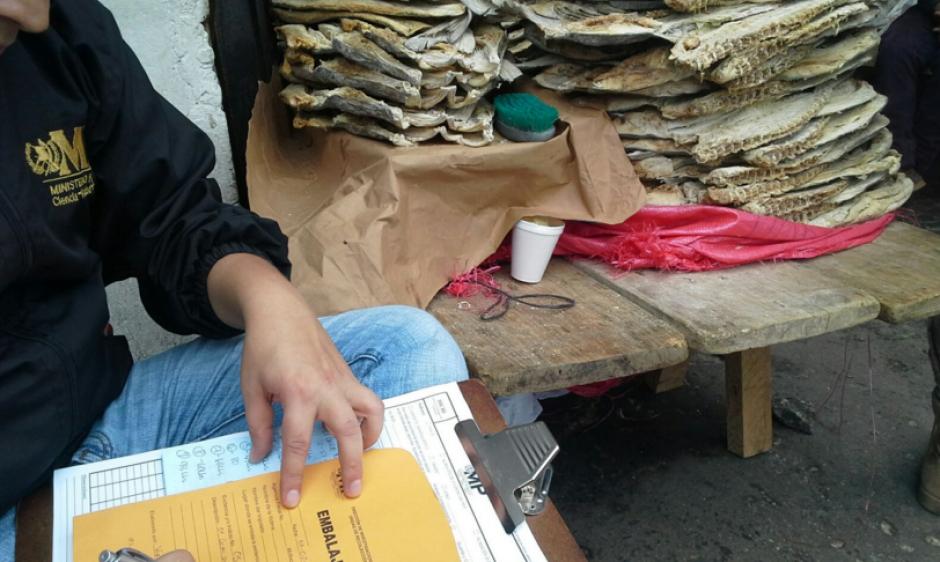 Durante Semana Santa la venta de pescado seco aumenta por la elaboración de platillos tradicionales. (Foto: MP)
