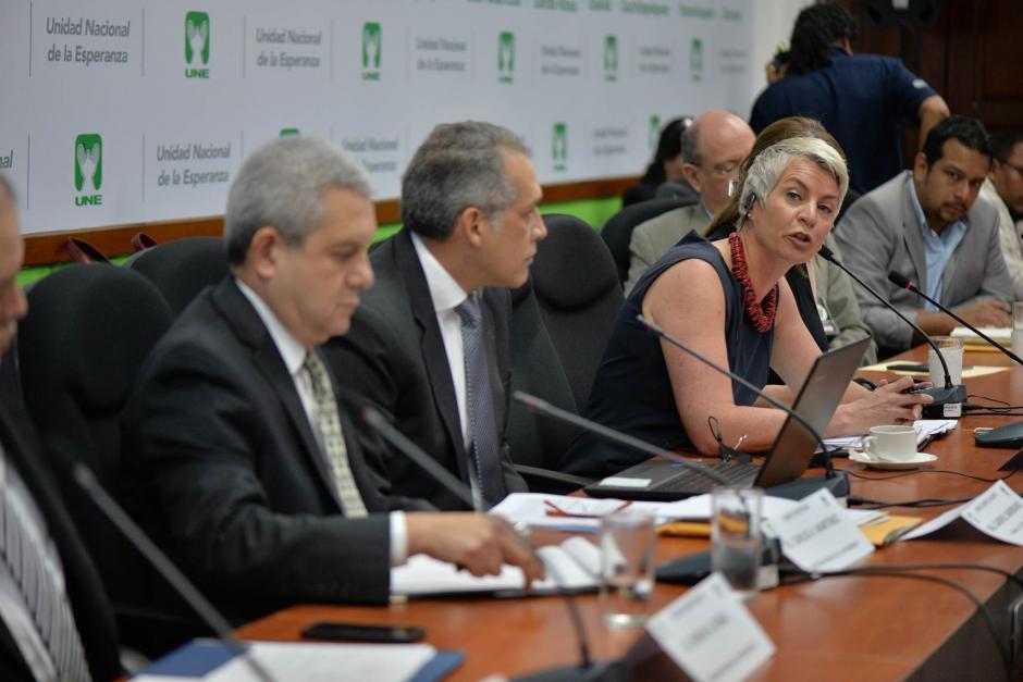Representantes de APM y Maerks explicaron los encuentros. (Foto: Wilder López/Soy502)