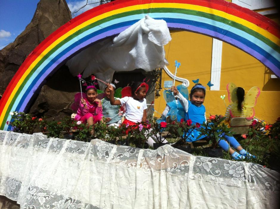 Una representación de la pascua. Foto Dina Fernández/Soy502