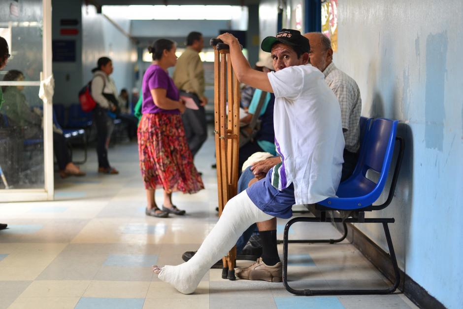 Se dejaron de atender aproximadamente a 600 personas al día en la consulta externa del hospitalRoosevelt.(Foto: Wilder Lopéz/Soy502)