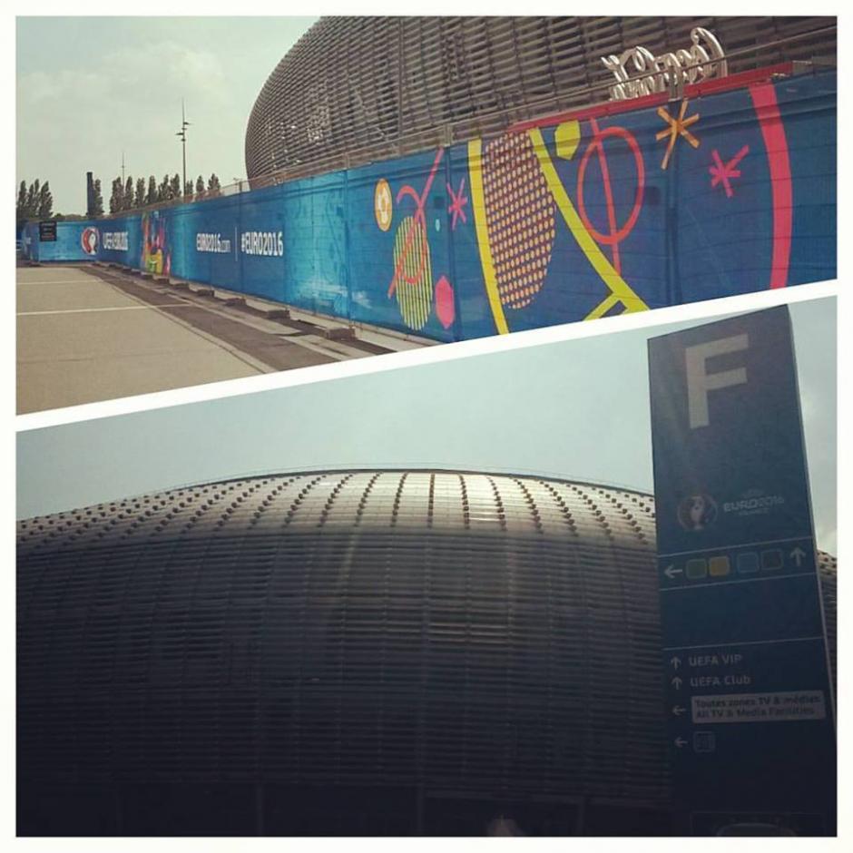 El gran estadio Pierre Mauroy está ubicado en la ciudad de Lille, Francia. (Foto: Facebook/Stade Pierre Mauroy)