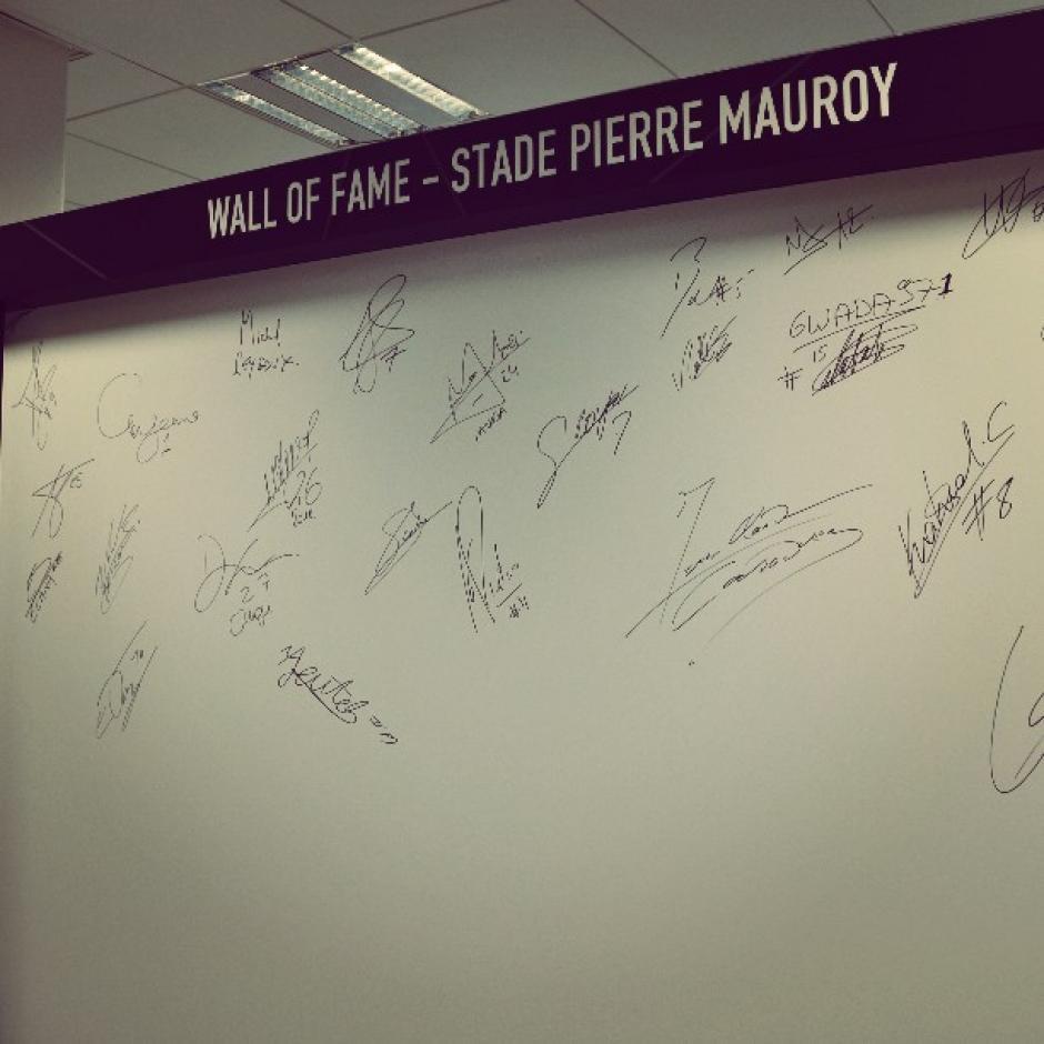 """En su interior cuenta con """"la pared de la fama"""". (Foto: Facebook/Stade Pierre Mauroy)"""
