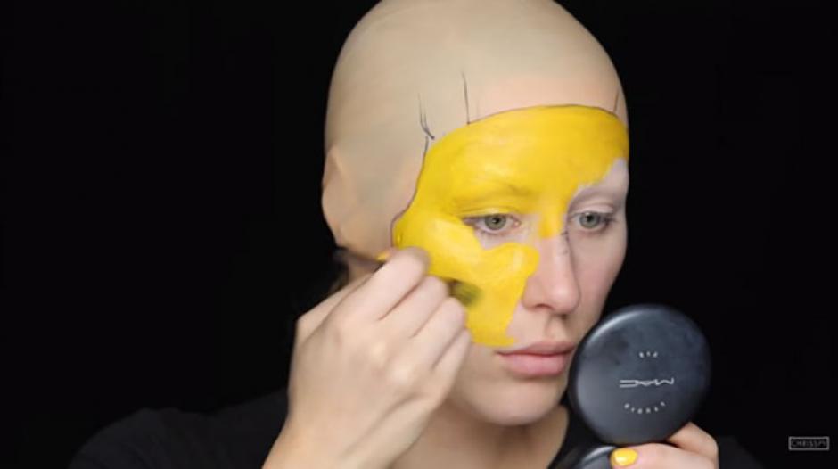 Una mujer se transforma en Pikachu a base de maquillaje. (Foto: mott.pe)