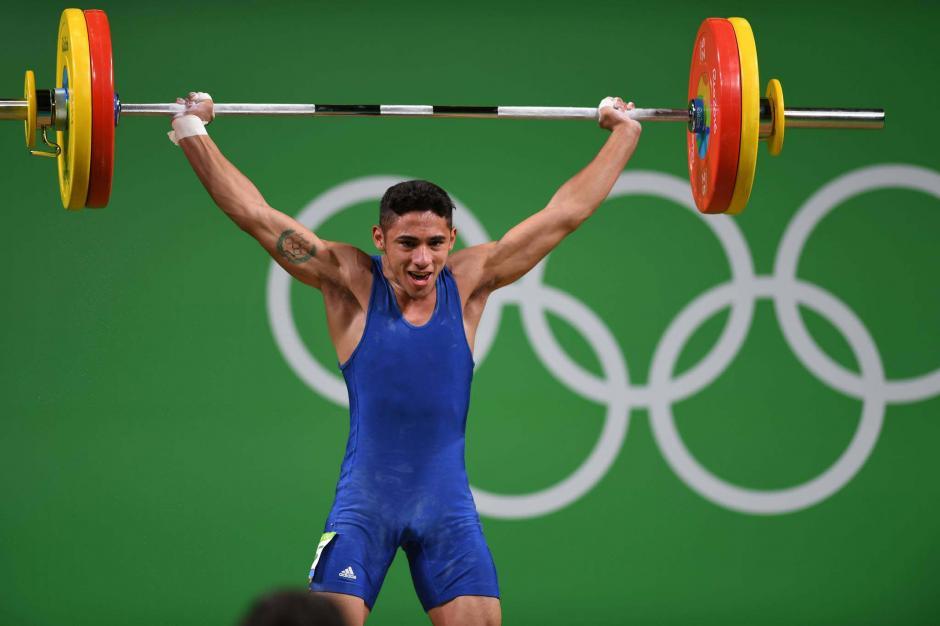 El atleta de Mataquescuintla superó lo hecho por Luis Rosito en 1980, había quedado puesto 11. (Foto: Aldo Martínez/Enviado de Nuestro Diario)